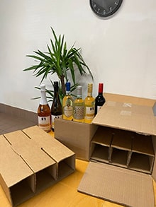 Shipping Wine and spirits